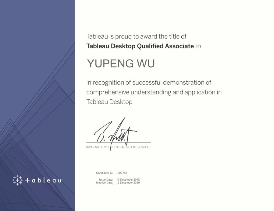 desktop QA 证书 Session_199198_Certificate